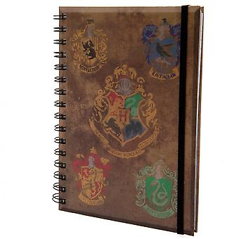 Harry Potter House Crests Notebook
