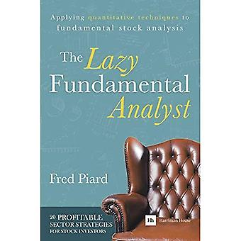 The Lazy Fundamental Analyst: Applying Quantitative Techniques to Fundamental Stock Analysis