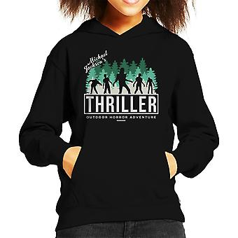Michael Jackson Thriller buiten Horror avontuur Kid's Hooded Sweatshirt