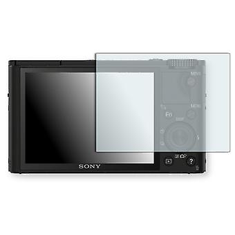 Sony DSC-RX100 display protector - Golebo crystal clear protection film