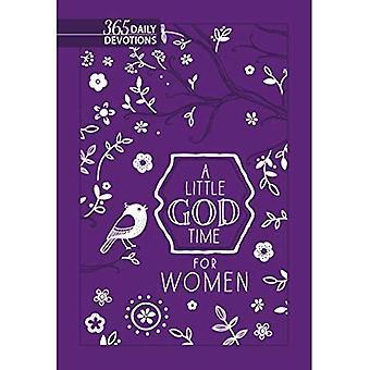 En liten Gud tid för kvinnor: 365 daglig andakt (nya Faux läder gåva Edition)