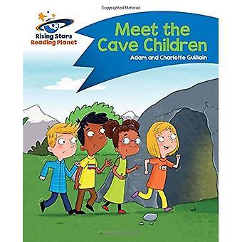 Planeet - Meet de grot-kinderen - blauwe lezen: komeet Street Kids (stijgende sterren planeet lezen)