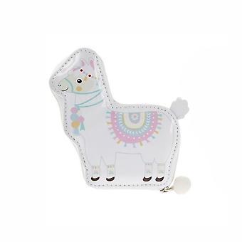 5 Piece Manicure Set - Llama Blue & White