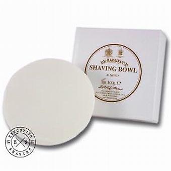 D R Harris Shaving Soap Refill in mandorla 100g