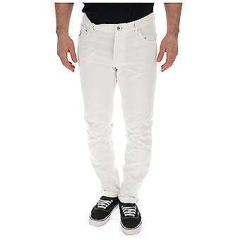Brunello Cucinelli hvid denim jeans