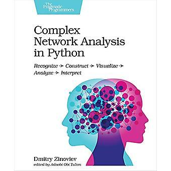 Complex Network Analysis in Python by Dmitry Zinoviev - 9781680502695