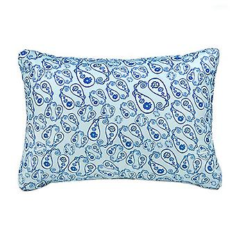 Gardenista® Stamp Turquoise Print Water Resistant EU Pallet Furniture Seating Back Cushion