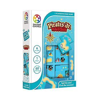 SmartGames Pirates Jr. Hide & Seek One Player Puzzle Game