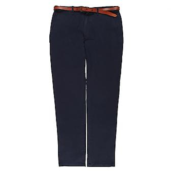 Scotch & Soda Slim Fit Chino Trousers,Navy