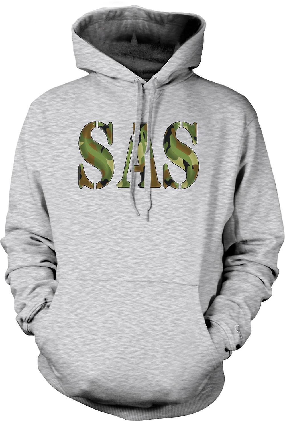 Servicio de aire especial para hombre con capucha - SAS-