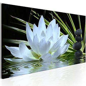 Canvas print-Zen Garden (1 deel) smal