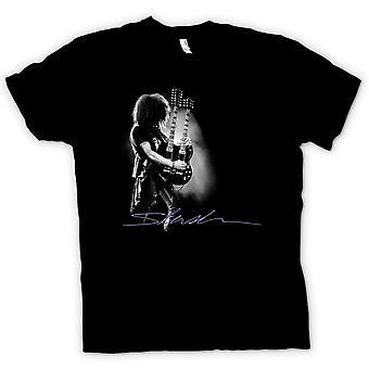 Mens T-shirt - Guns n Roses - Slash Twin Guitar
