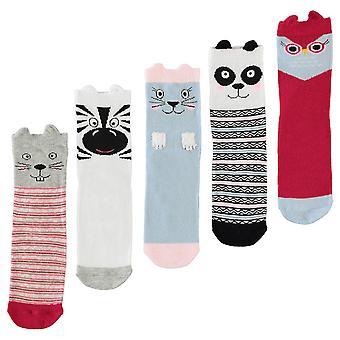 Star Kids Novelty 5 Pack Socks Infants