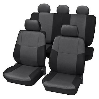 Charcoal Grey Premium Car Seat Cover set For Vauxhall VECTRA 1995-2002