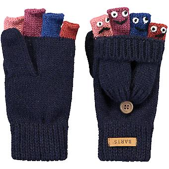 Barts Girls Puppet Bumglove Fingerless Character Gloves