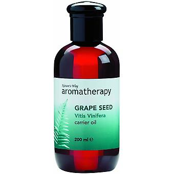 Natures Way Grapeseed Carrier Oil 200ml
