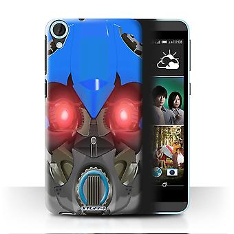 STUFF4 Case/Cover for HTC Desire 820s Dual/Bumble-Bot blauw/Robots