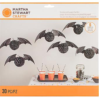 Honeycomb Bat Kit Makes 6-Spooky Night M4820416