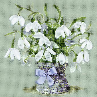 Snowdrops Counted Cross Stitch Kit-8
