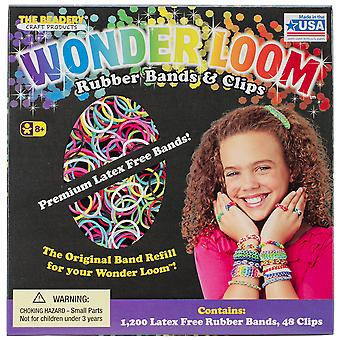 Wonder Loom Rubber Bands And Clips Refill Set 7277