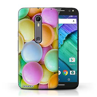 STUFF4 Case/Cover for Motorola Moto X Style/Flying Saucers/Confectionery