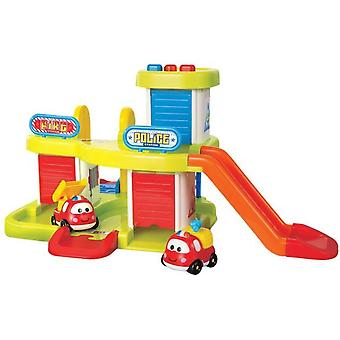 Dede Children Parking Police and Fire (Toys , Vehicles And Tracks , Parking And Circuits)