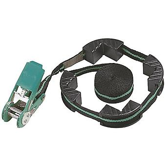 Wolfcraft Ratchet belt tensioner with 4 jaws, wide 25 mm (clamping force 180 kg)