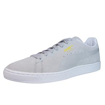 Puma Suede Classic Sprayed Mens Trainers / Shoes - Grey