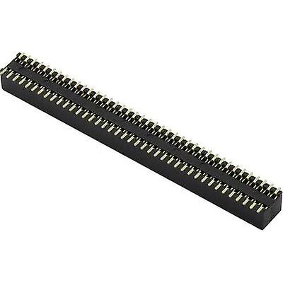 Receptacles (standard) No. of rows: 2 Pins per row: 20 Connfly 1389944 1 pc(s)