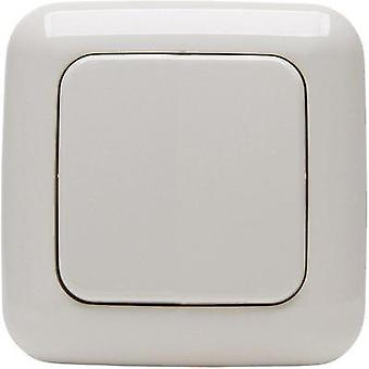 Free Control Wireless wall-mounted switch 2-channel Cream-white