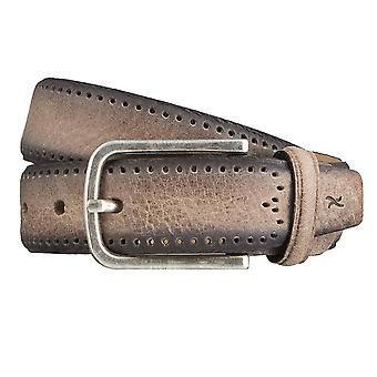 BRAX belts men's belts leather belt grey 3152