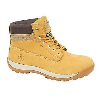 Amblers Steel FS102 Ladies Safety Boots Leather Rubber Phylon Sole Lace Up Shoes