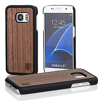 32nd Wooden Back case for Samsung Galaxy S7 (SM-G930) - Walnut
