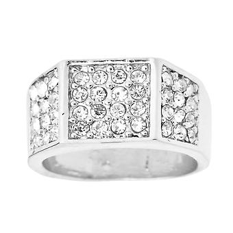 Iced Out Bling Hip Hop Designer Ring - EDGY CZ