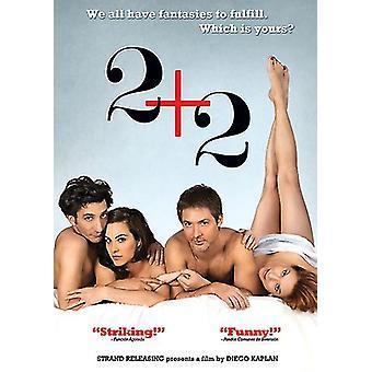 2 + 2 [DVD] los E.e.u.u. la importación