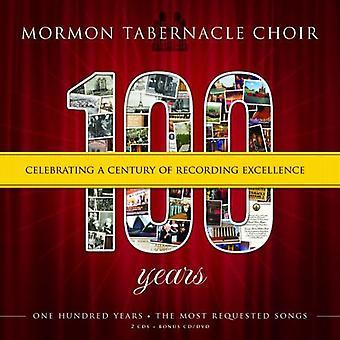 Mormon Tabernakel kor - 100 år: fejrer et århundrede af optagelse Excellence [CD] USA import