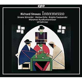 Strauss / Schneider / Eiche / Welschenbach - Intermezzo 72 [CD] USA import