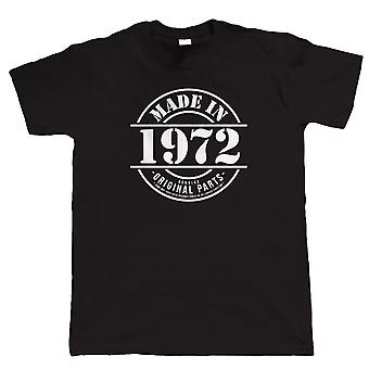 Made in 1972 Mens Funny T Shirt