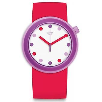Swatch POPalicious Silicone Unisex watch PNP100