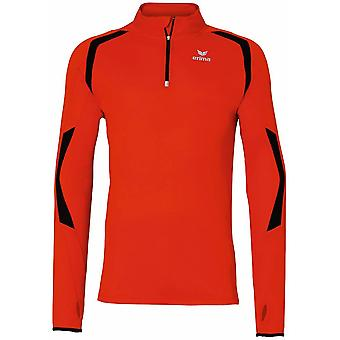 Erima men running Longsleeve running shirt red - 833514