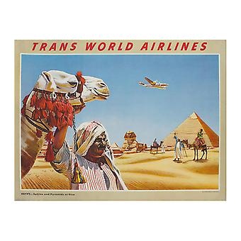 Trans World Airlines Poster Print Giclee