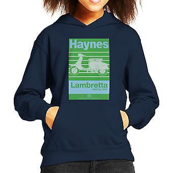 Haynes Owners Workshop Manual Lambretta 47 To 72 Kid's Hooded Sweatshirt