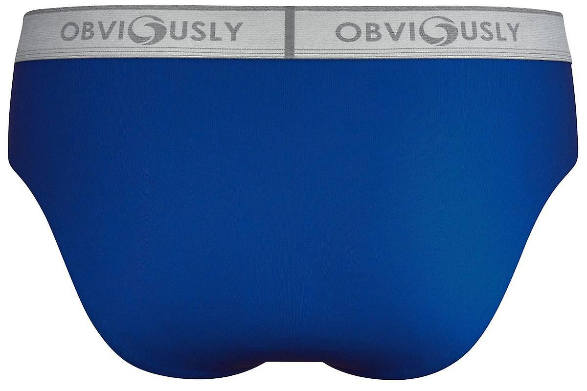 Obviously Comfort Briefs - Blue