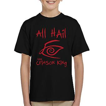 All Hail The Crimson King Dark Tower Kid's T-Shirt
