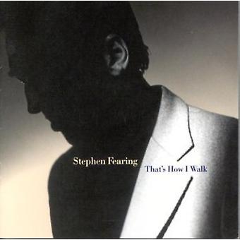 Stephen Fearing - thats hvordan jeg gang [CD] USA importerer