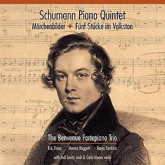 Benvenue Fortepiano Trio - Schumann: Quinteto / Marchenbilder / import de USA de Fünf Stucke Im Volks [CD]
