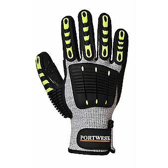 Portwest - Anti Impact Cut Resistant 5 Glove One Pair Pack