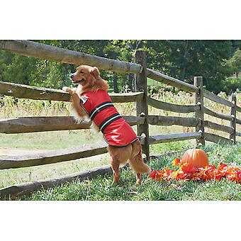 Dog Blanket Coat-Red Large 752426
