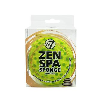 W7 Zen Spa Sponge Latex Free - Cleanse, Exfoliate & Suitable For Sensitive Skin