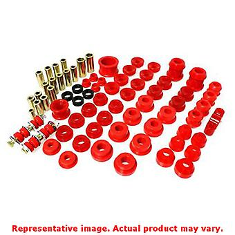 Energy Suspension Hyper-Flex System 16.18103R Red Fits:HONDA 1992 - 1995 CIVIC